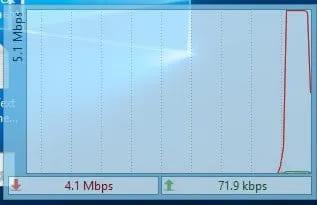 Hiển thị tốc độ Internet trên thanh Taskbar của Windows với DU Metter 4