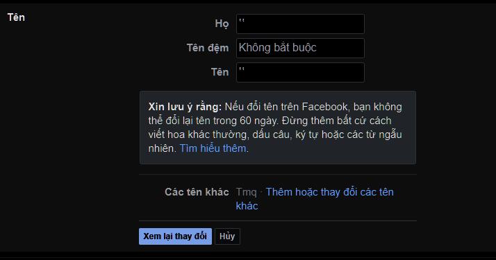 Hướng Dẫn Làm Facebook Không Tên Bằng Facebook Lite 18