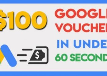 voucher coupon google ads