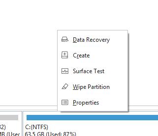 chia ổ đĩa MiniTool Partition