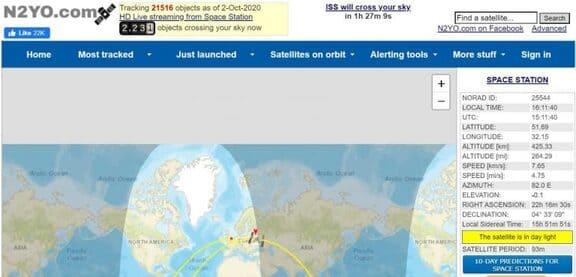 n2yo công cụ thu thập thông tin tình báo OSINT
