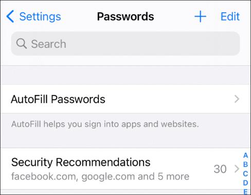 Thông báo mật khẩu yếu