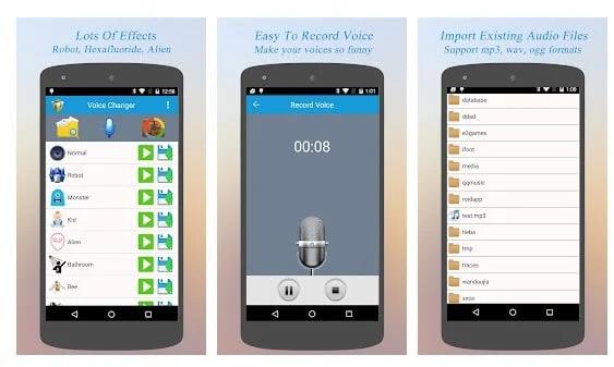 Best Voice Changer ứng dụng thay đổi giọng nói hay nhất android