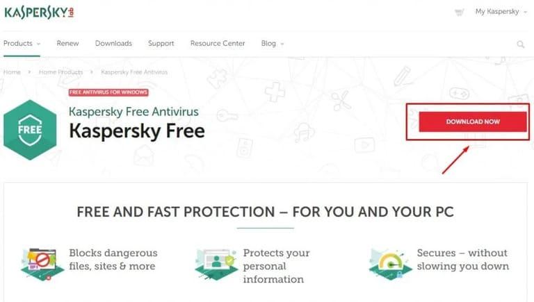 Kaspersky Free - Kaspersky Cloud diệt virus tốt nhất 2020