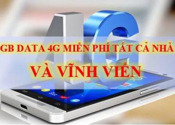 NHAN 1G DATA 4G FREE