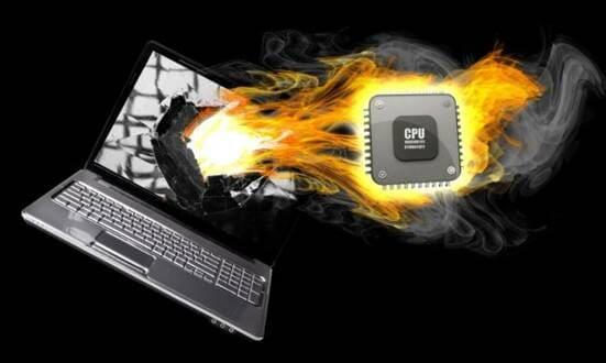 Nhiệt độ CPU bao nhiêu thì bị hỏng?