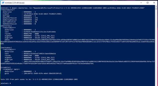 Cách Hack Password Windows đã lưu bằng Mimikatz và DAPA 42