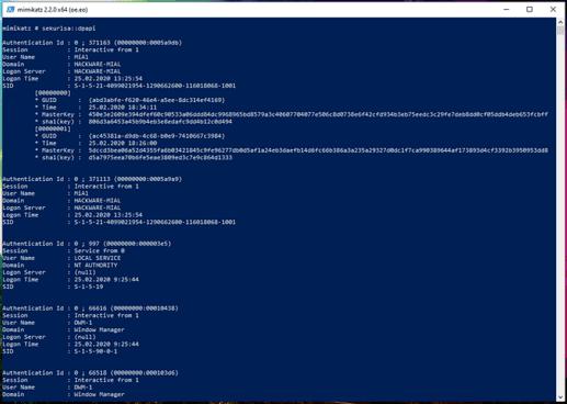 Cách Hack Password Windows đã lưu bằng Mimikatz và DAPA 43