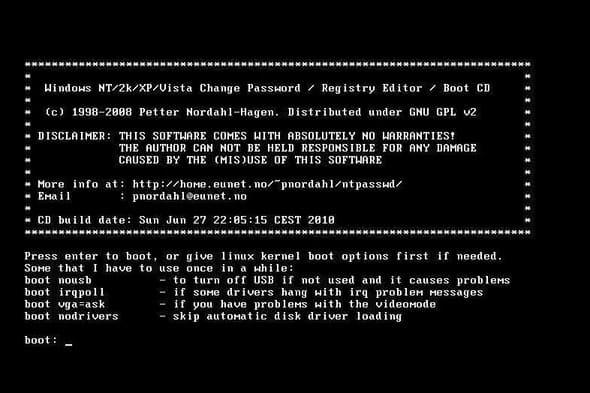 6 công cụ Hack Password Windows tốt nhất hiện nay 30