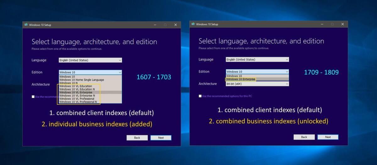 Universal MCT wrapper: Download ISO Windows 10 tất cả các phiên bản 13