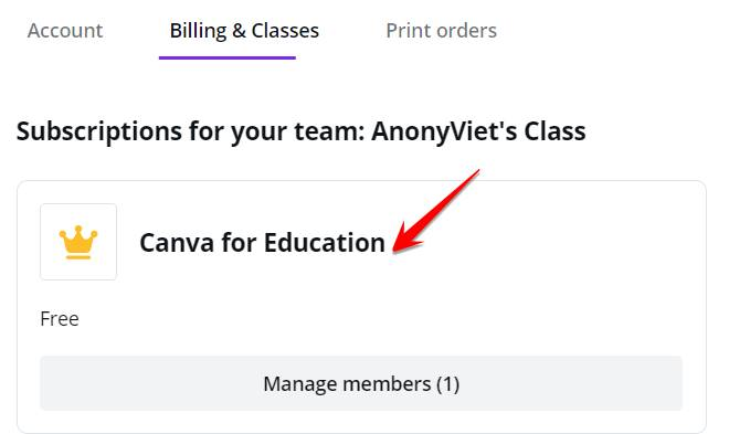 create Canva for Education free