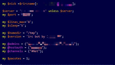 kênh IRC botnet ở việt nam
