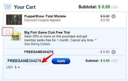 Hướng dẫn mua tất cả Game của Big Fish không tốn tiền 16