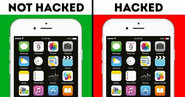 các dấu hiệu điện thoại bị hack