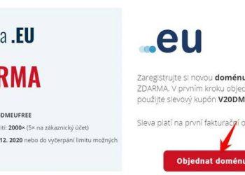 reg domain .EU miễn phí 1 năm
