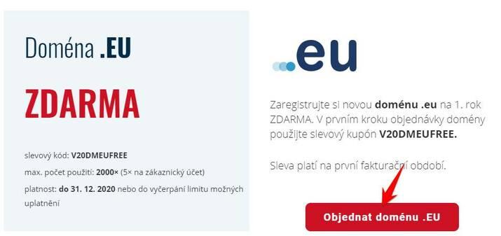 đăng ký domain .ONLINE, .STORE, .EU miễn phí 1 năm