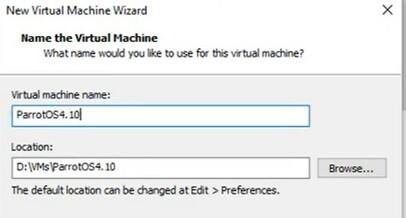 Hướng dẫn cài đặt Parrot Security OS trên VMWare 28