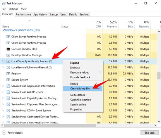 Hack Password Windows bằng cách xuất dữ liệu từ RAM với Mimikatz 32