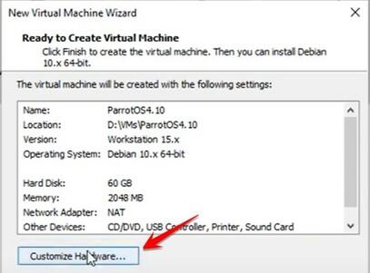 Hướng dẫn cài đặt Parrot Security OS trên VMWare 31