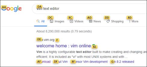 Hướng dẫn duyệt Web bằng bàn phím với Vimium trên Chrome và Firefox 8