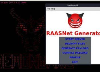 Hướng dẫn tạo virus Ransomware tống tiền bằng RAASNet 3