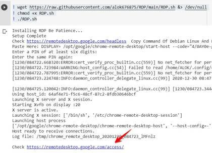 Hướng dẫn tạo VPS bằng Google Colab miễn phí 12