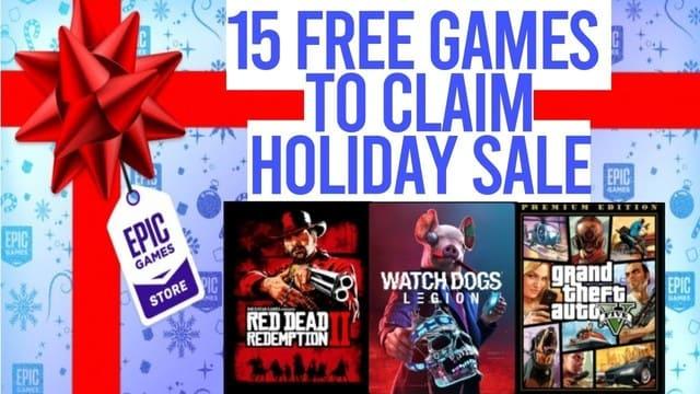 EPIC tặng 17 Game bản quyền cực HOT nhân dịp Noel