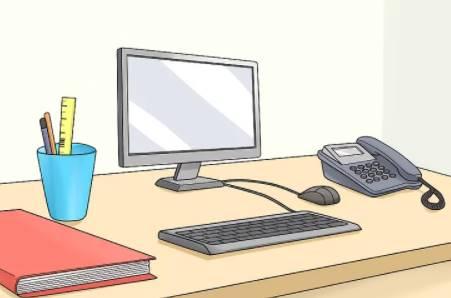 Cách ngồi vào bàn máy vi tính đúng cách tránh bị đau lưng, đau mắt 5