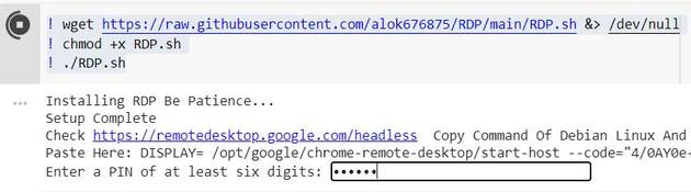 Hướng dẫn tạo VPS bằng Google Colab miễn phí 11