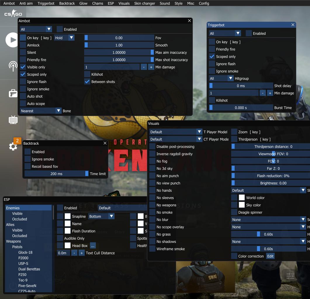 tool kích hoạt hack trong game cs:go