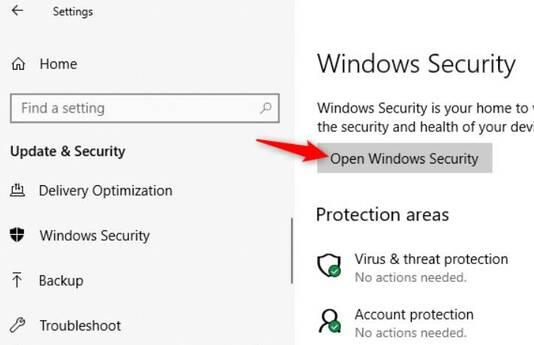 Cách quét Virus trên Windows