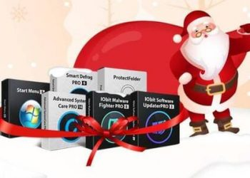 IOBIT tặng bản quyền 6 phần mềm tiện ích nhân dịp Noel