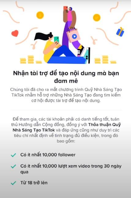 Hướng dẫn Bật Kiếm tiền TikTok - nhận tiền từ Video bạn làm ra 15