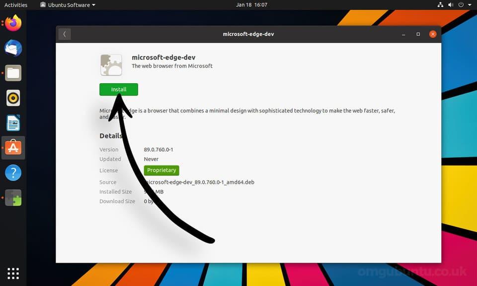 Cách cài đặt Microsoft Edge trên Ubuntu 9