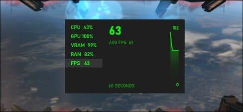 Cách hiển thị FPS trên Windows 10 không cần cài thêm phần mềm