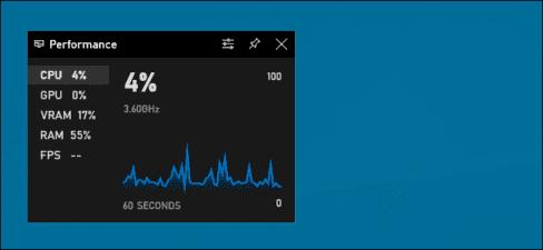 xem FPS trên Windows 10