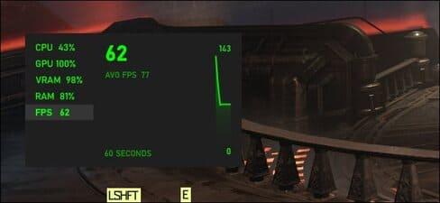 Game Bar FPS