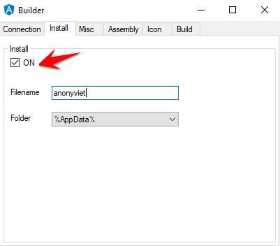 AsyncRAT Install
