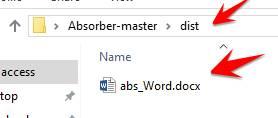 thư mục chứa keylog Absorber