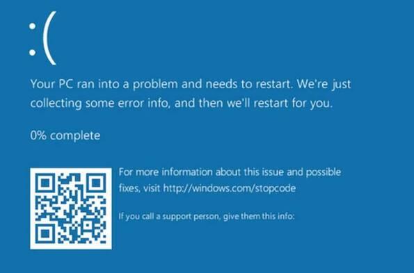 Xuất hiện đường dẫn khiến Windows 10 bị treo ngay lập tức