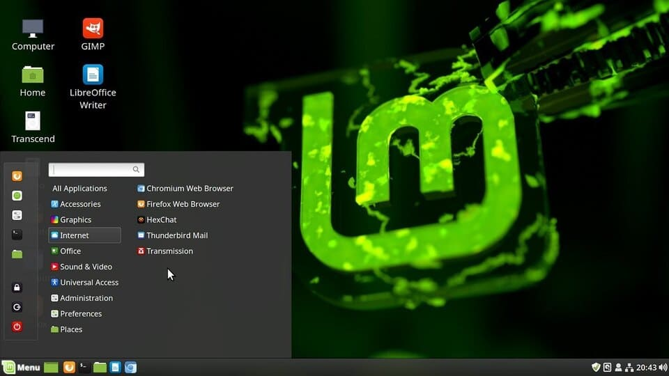 linux mint thay thế windows 7