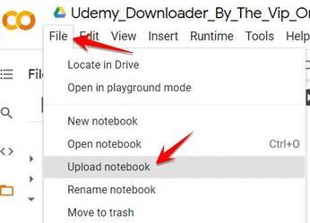Cách Download khóa học Udemy bằng Colab