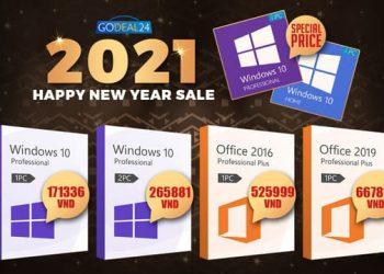 Hot Deal! Giá bản quyền Windows 10 chỉ từ 130.000đ Sale off 62% 9
