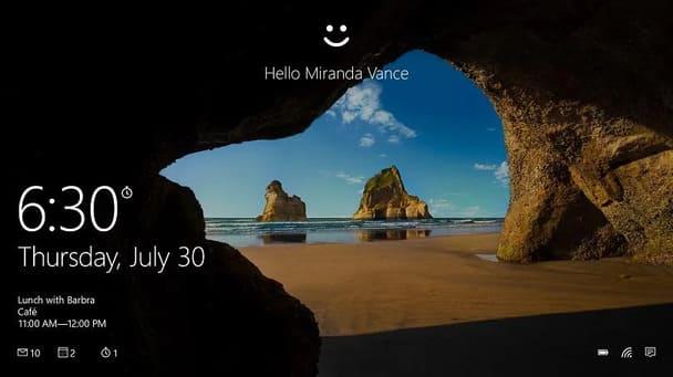 Cách tuỳ chỉnh màn hình khoá Windows 10