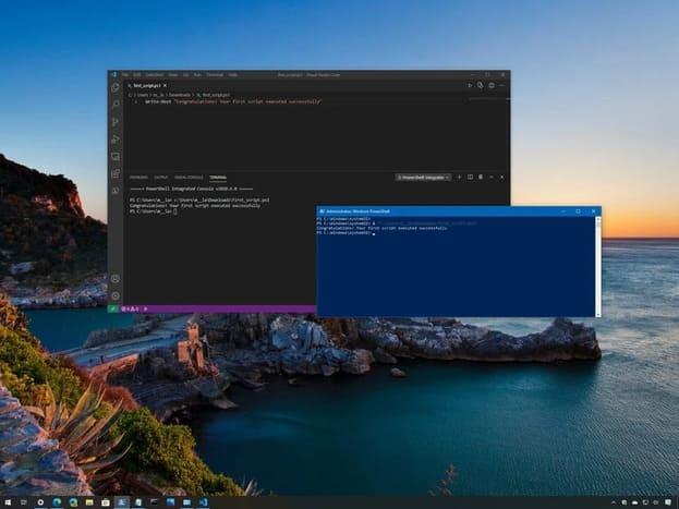 Hướng dẫn lập trình PowerShell trên Windows 10