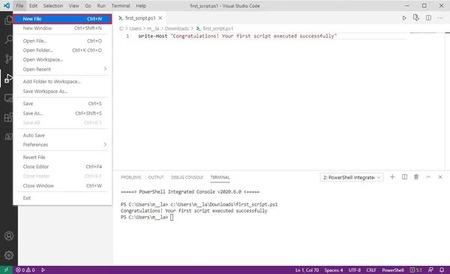 Hướng dẫn lập trình PowerShell trên Windows 8