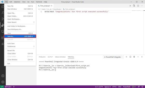 Hướng dẫn lập trình PowerShell trên Windows 9
